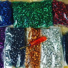 Colors of the rainbow are in full effect! MIP nut driver puzzle is nearing completion ... Now to get them back from Nickle plating and start assembling and packaging! ... Set to ship end of February! Stay tuned #miponline  #mipnutdrivers