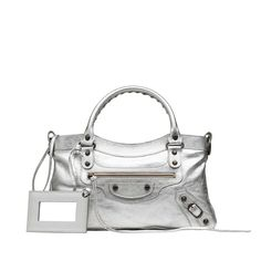 Balenciaga Top Handle Bag Women Gris Aluminium - Discover the latest collection and buy online Women on the Official Online Store.