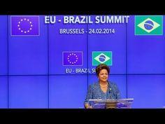Dilma concede declaração à imprensa após reunião na VII Cúpula Brasil-Un...