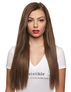 IRRESISTIBLE ME 1 piece Clip in Hair Extensions Ash Blond...