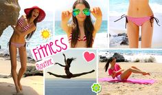 How to Get a Bikini Body FAST! ☀︎ FUN workout routine, Diet, essentials,...