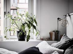 A serene Swedish home in soft tones