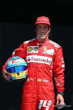 Official photo sesson for Fernando Alonso - 2014 Australian GP