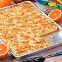 Orange Cream Freezer Dessert Recipe Full recipe > http://www.int-recipes.info/2013/11/orange-cream-freezer-dessert-recipe.html