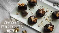 VEGAN EATS : CHOCOLATE PEABUT BUTTER MUFFIN