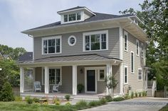 DC Area's First Passive House - craftsman - Exterior - Dc Metro - Peabody Architects