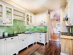 French Colonial Kitchen Design