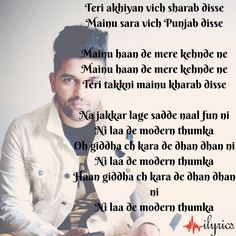 Modern Thumka Lyrics by Guru Randhawa feat Jasmine Sandlas is latest Punjabi song composed by Jasmine Sandlas while its lyrics are written by Guru Randhawa. Like This Song, Bollywood Songs, Love You, My Love, Me Me Me Song, In A Heartbeat, Song Lyrics, Real Life, Thoughts