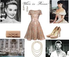 """""""Roman Holiday"""" by jesse1987 ❤ liked on Polyvore"""