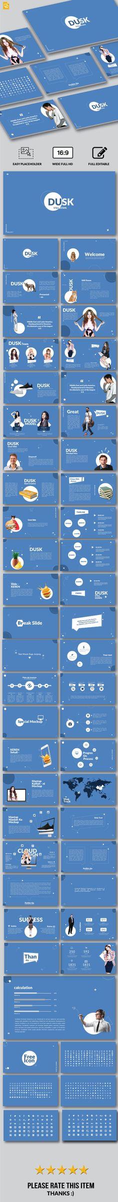 Dusk - Google Slide - Google Slides Presentation Templates