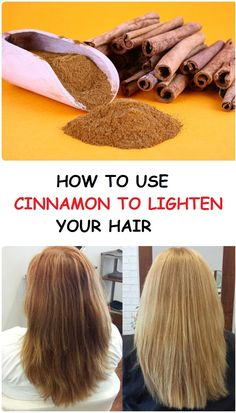 How to use cinnamon to lighten your hair - Inspire Beauty Care