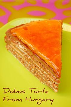 Rosa's Yummy Yums: DOBOS TORTE - THE DARING BAKERS