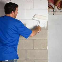 Rust-oleum Waterproofing Your Basement TOOLS & SUPPLIES WATERTITE™ Mold and Mildew-Proof™* Waterproofing Paint WATERTITE™ Etch and Cleaner for Concrete and Masonry WATERTITE™ Hydraulic Cement WATERTITE™ Polyurethane Sealant Household Bleach Thick Synthetic Brush Large Nap Roller