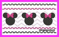 Faux Smocked Minnie Mouse