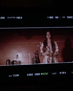 Lana Del Rey behind the scenes of 'White Mustang' music video