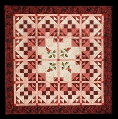 Sweetheart Roses quilt -Picture Piecing Traditional Quilts by Cynthia England