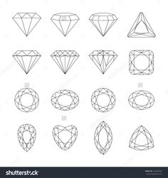 Set of isolated gem stones.Vector set of diamond design elemen .- Set of isolated gem stones.Vector set of diamond design elements…. Royalty free diamond vector icons set stock vector art and more images of 2015 - Diamond Tattoo Designs, Diamond Tattoos, Diamond Design, Geometric Tattoo Diamond, Diamond Finger Tattoo, Small Diamond Tattoo, Juwel Tattoo, Stone Tattoo, Diamond Sketch
