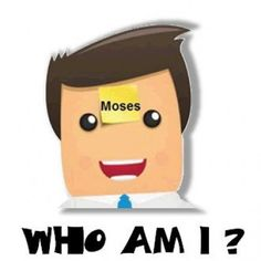 Who Am I? Do It Yourself Bible Game