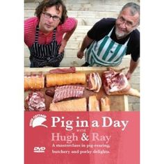 This DVD from the River Cottage team covers raising pigs, butchering them and using the meat from nose to tail, almost literally.  $31