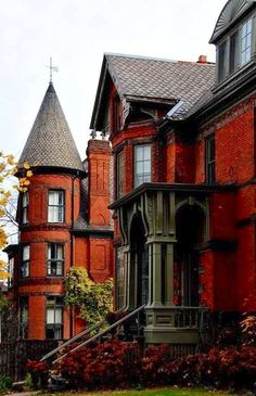 Victorian turret - Montreal, Quebec