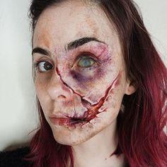 Special effects makeup by @juliasmmakeup