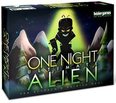 In One Night Ultimate Alien, your village has been invaded by extraterrestrial beings. In the course of a single evening, your village will decide who among them is an alien. because all it takes is finding one alien to win! Werewolf Board Game, Werewolf Games, Hobbies To Take Up, Hobbies For Men, Alien Games, Vampire Games, Cheap Hobbies, Hobbies Creative, Interactive Toys