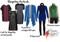 The Slimming Effect of Verticals and How to Use Them in Your Outfit
