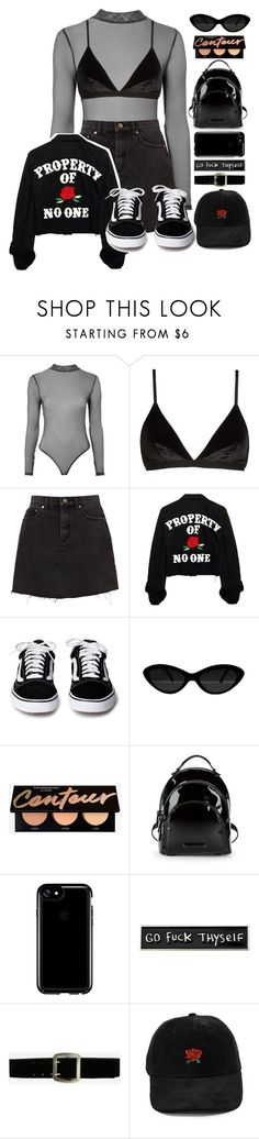 """""""☯"""" by rainharrybow ❤ liked on Polyvore featuring Topshop, Madewell, Kendall + Kylie, Speck, RIPNDIP, Express, StreetStyle, black, blackandwhite and allblackoutfit"""