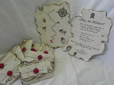 Cool pirate invitation #pirate #invitation