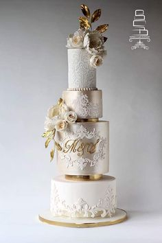 Indescribable Your Wedding Cakes Ideas. Exhilarating Your Wedding Cakes Ideas. Amazing Wedding Cakes, Elegant Wedding Cakes, Elegant Cakes, Wedding Cake Designs, Wedding Cake Toppers, Champagne Wedding Cakes, Ivory Wedding Cake, White And Gold Wedding Cake, Cake For Wedding