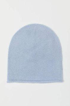 38406dc0b4c H M Cashmere Hat - Blue. Cashmere Hat