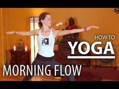 20 Minute Energizing Yoga - Relaxing Morning Yoga - YouTube