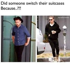 """What if somebody did switch their suitcases then they were like, """"Well, better put it to good use."""""""