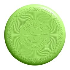Green Toys has taken the flying disc to the next level with the EcoSaucer. Made in the USA from 100% recycled plastic, the EcoSaucer has been independently verified to be free of BPA, Phthalates, and lead. Get your kids outside and throwing around an EcoSaucer today!