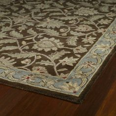 Hand-tufted Scarlett Chocolate Square Wool Rug (11'9 x 11'9) | Overstock.com Shopping - Great Deals on Round/Oval/Square