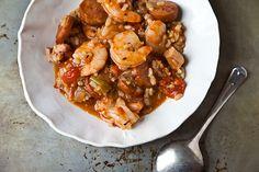 Brown Rice Jambalaya-ish