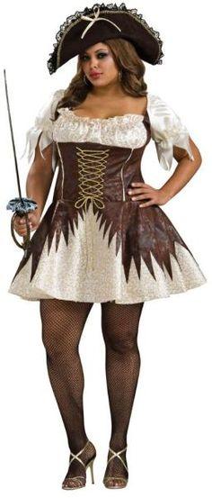 Buccaneer Pirate Women's Plus Size Costume