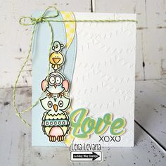 The Alley Way Stamps: Love