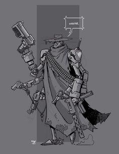 Mecha Sketch 8 by cwalton73 on DeviantArt