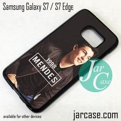 Shawn Mendes 1998 Photo Phone Case for Samsung Galaxy S7 & S7 Edge