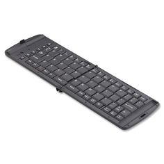 Verbatim Wireless Bluetooth Folding Keyboard - iPhone iPad (All), iPod Touch, Kindle Fire HD (All) Google Nexus, Samsung Galaxy, other Android Tablets 97537 Piano Black