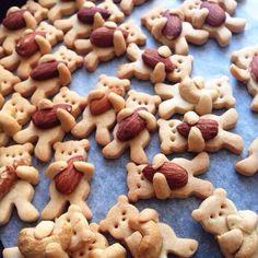 くまのクッキー