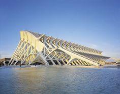 City of Arts and Sciences by Santiago Calatrava in Valencia, Spain Photo courtesy Santiago Calatrava Archive