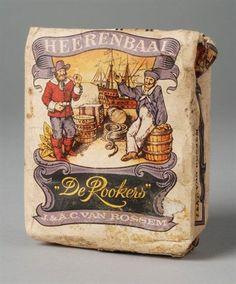 Pakje tabak van Van Rossem, productnaam Heerenbaai,