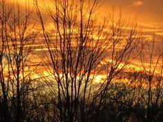 Blazing sunset (unaltered), Christmas Day