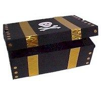 Shoe Box Pirate's Treasure Chest