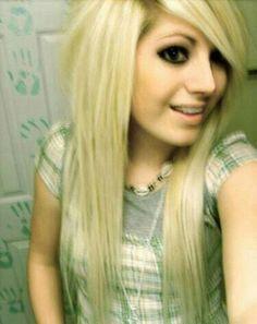 #blonde #scene #hair <3