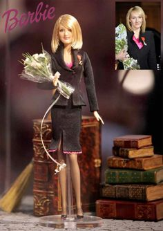 JK Rowling barbie.... (wow...really? Did this happen? Hmmm...)