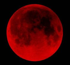 the blood moon for the 14th of 2014!! Did u see it last night?!? 3 more blood moons until Christ's return!