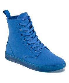 Look at this Blue Hackney Canvas Boot on #zulily today!